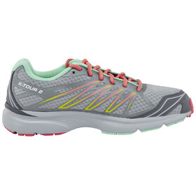 Salomon X-Tour 2 Women light onix/pearl grey/melon bloom